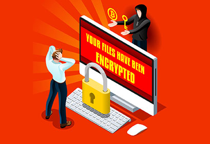 Ransomware – A malware that encrypts the victim's data and asks for a ransom in return for a decryption key.